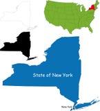 新的状态美国约克 免版税库存照片
