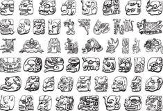 американский вектор иллюстрации иконы культуры Стоковая Фотография