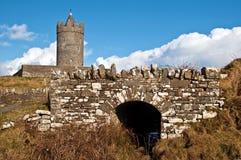 запад Ирландии стародедовского замока ирландский старый Стоковая Фотография