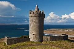 запад Ирландии стародедовского замока ирландский старый Стоковая Фотография RF