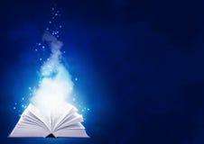 书魔术 免版税图库摄影