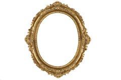 античное золото рамки старое Стоковые Фото