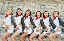 χορευτές σύγχρονοι Στοκ Εικόνα