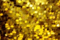 Κίτρινα φω'τα τέχνης Στοκ φωτογραφία με δικαίωμα ελεύθερης χρήσης