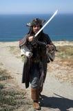 着陆海盗 免版税库存照片