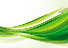 绿线 免版税图库摄影