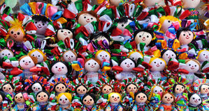 куклы мексиканские Стоковое Фото
