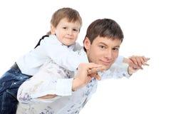 做父母 免版税库存图片