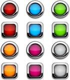 περιοχή κουμπιών Στοκ εικόνα με δικαίωμα ελεύθερης χρήσης