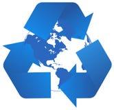 экологичность принципиальной схемы Стоковое Изображение RF