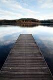 μόνη αποβάθρα Στοκ εικόνες με δικαίωμα ελεύθερης χρήσης