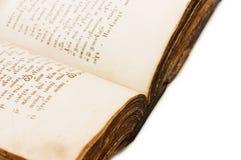 圣经书圣洁老 图库摄影