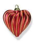 игрушка сердца рождества Стоковые Изображения