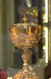 圣洁的酒杯 免版税库存图片
