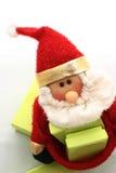 木偶圣诞老人 库存图片