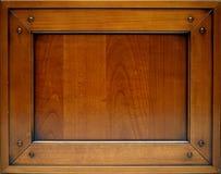 栗子门做木头 图库摄影