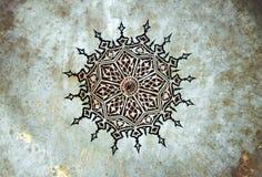 古老艺术符号 库存照片