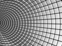 抽象铝背景模式正方形 免版税库存图片