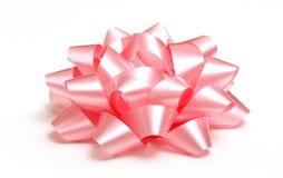 弓粉红色 库存图片