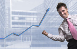 企业进展 免版税库存照片
