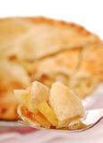 苹果饼片式 免版税图库摄影