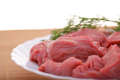 肉 免版税库存照片