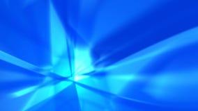 抽象背景蓝色光芒 免版税库存图片