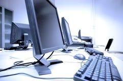 计算机室 库存照片