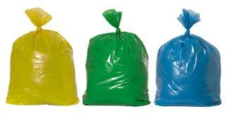 回收垃圾 库存图片