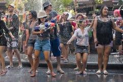节日新的泰国年 图库摄影