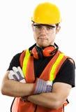 εργάτης οικοδομών Στοκ Φωτογραφία