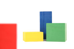 древесина игрушки блоков Стоковая Фотография