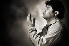 προσευχή Θεών που λέει Στοκ φωτογραφία με δικαίωμα ελεύθερης χρήσης