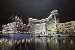 ноча гостиницы казино Стоковая Фотография RF