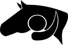 любовник лошади Стоковое фото RF