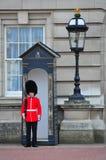 αγγλική φρουρά Λονδίνο β&a Στοκ Εικόνες