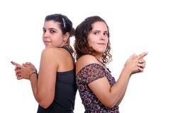 κορίτσια δύο Στοκ Φωτογραφίες