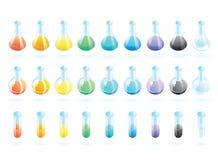 χημικό γυαλί Στοκ Φωτογραφίες