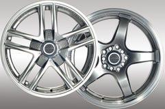 汽车体育运动轮子 库存图片