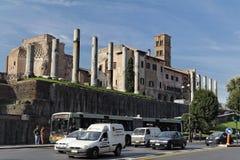 论坛罗马罗马 免版税库存照片