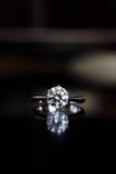 δαχτυλίδι διαμαντιών Στοκ εικόνες με δικαίωμα ελεύθερης χρήσης
