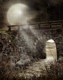 桥梁黑暗 库存图片