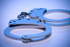 наручники Стоковая Фотография