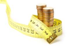 硬币磁带 免版税库存图片