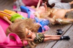 σπασμένες κούκλες Στοκ εικόνα με δικαίωμα ελεύθερης χρήσης