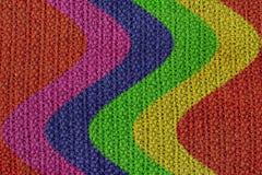 背景被编织的纹理羊毛 免版税库存照片