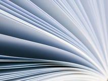 抽象书页 免版税图库摄影