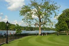 海德・伦敦公园 库存照片
