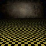 ретро текстурированная комната Стоковые Фото