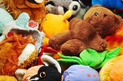 被充塞的玩具 库存照片